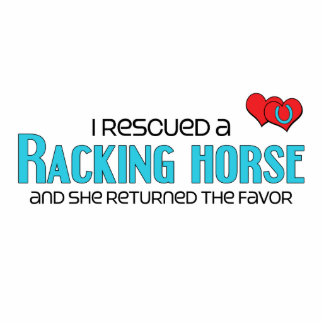 I Rescued a Racking Horse (Female Horse) Photo Sculptures