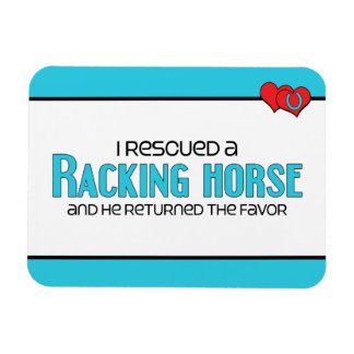 I Rescued a Racking Horse (Male Horse) Magnet