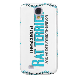 I Rescued a Rat Terrier (Male Dog) Galaxy S4 Case