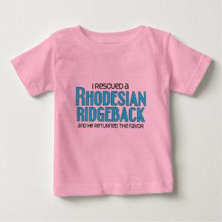 I Rescued a Rhodesian Ridgeback (Male Dog) Tee Shirt