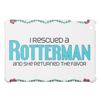 I Rescued a Rotterman (Female) Dog Adoption Design Case For The iPad Mini
