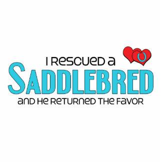 I Rescued a Saddlebred (Male Horse) Photo Cutouts