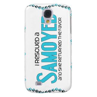 I Rescued a Samoyed (Female Dog) Samsung Galaxy S4 Cases