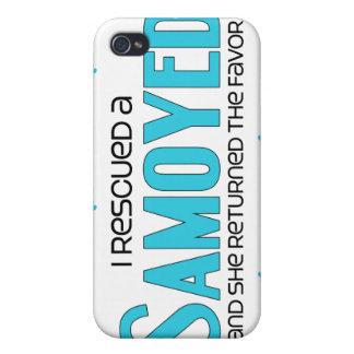 I Rescued a Samoyed (Female Dog) iPhone 4/4S Covers
