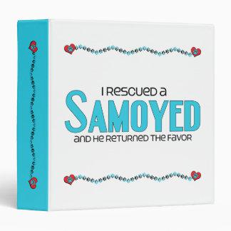 I Rescued a Samoyed (Male Dog) Binder