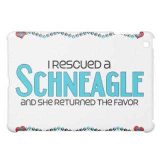 I Rescued a Schneagle (Female) Dog Adoption Design iPad Mini Covers