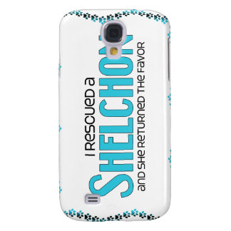 I Rescued a Shelchon (Female) Dog Adoption Design Galaxy S4 Covers