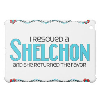 I Rescued a Shelchon (Female) Dog Adoption Design Cover For The iPad Mini