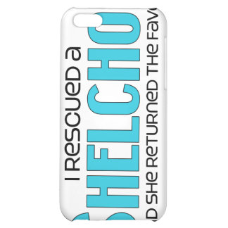 I Rescued a Shelchon (Female) Dog Adoption Design iPhone 5C Case