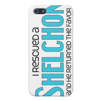 I Rescued a Shelchon (Male) Dog Adoption Design Case For iPhone 5
