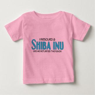 I Rescued a Shiba Inu (Male Dog) Baby T-Shirt