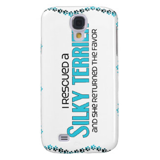 I Rescued a Silky Terrier (Female Dog) Galaxy S4 Cover