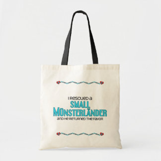 I Rescued a Small Münsterländer (Male Dog) Budget Tote Bag