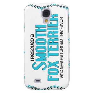 I Rescued a Smooth Fox Terrier (Female Dog) Samsung Galaxy S4 Cover