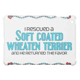 I Rescued a Soft Coated Wheaten Terrier (Male Dog) iPad Mini Covers