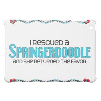 I Rescued a Springerdoodle (Female) Dog Adoption iPad Mini Covers