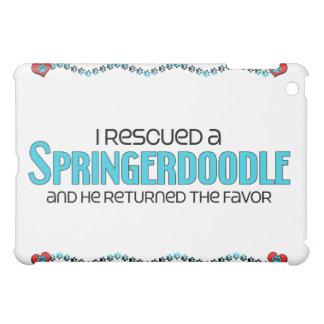 I Rescued a Springerdoodle (Male) Dog Adoption Cover For The iPad Mini