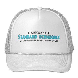 I Rescued a Standard Schnoodle (Female Dog) Trucker Hat