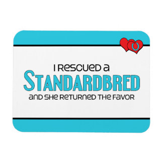 I Rescued a Standardbred (Female Horse) Magnet
