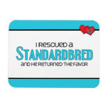 I Rescued a Standardbred (Male Horse) Magnets
