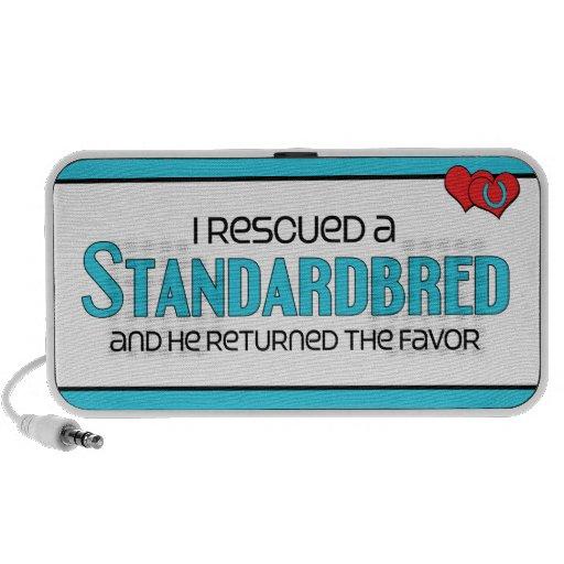 I Rescued a Standardbred (Male Horse) iPod Speakers