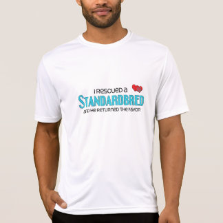 I Rescued a Standardbred (Male Horse) T-shirts