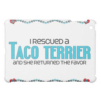 I Rescued a Taco Terrier (Female) Dog Adoption iPad Mini Cover