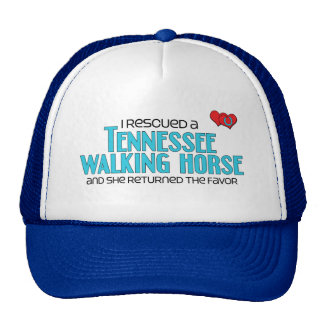 I Rescued a Tennessee Walking Horse (Female Horse) Trucker Hat