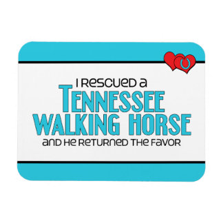 I Rescued a Tennessee Walking Horse (Male Horse) Magnet