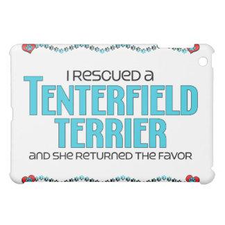 I Rescued a Tenterfield Terrier (Female Dog) iPad Mini Cover