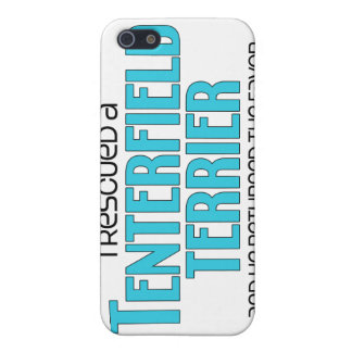 I Rescued a Tenterfield Terrier (Male Dog) Case For iPhone 5