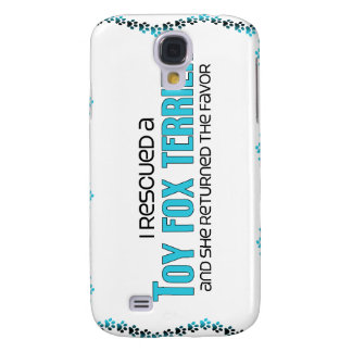 I Rescued a Toy Fox Terrier (Female Dog) Samsung Galaxy S4 Cover