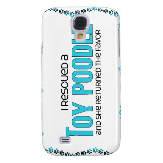I Rescued a Toy Poodle (Female Dog) Galaxy S4 Cover