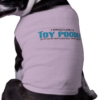 I Rescued a Toy Poodle (Female Dog) Tee