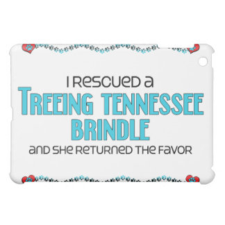 I Rescued a Treeing Tennessee Brindle (Female Dog) iPad Mini Covers
