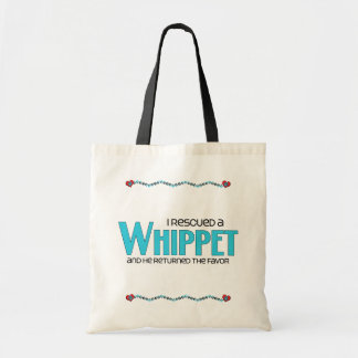 I Rescued a Whippet (Male Dog) Bags