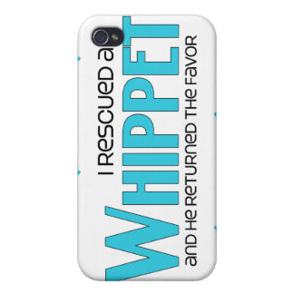I Rescued a Whippet (Male Dog) iPhone 4/4S Cover