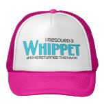 I Rescued a Whippet (Male Dog) Trucker Hat