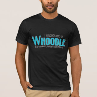 I Rescued a Whoodle (Male) Dog Adoption Design T-Shirt