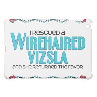 I Rescued a Wirehaired Vizsla (Female Dog) iPad Mini Case
