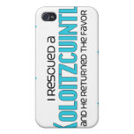 I Rescued a Xoloitzcuintli (Male Dog) iPhone 4/4S Case