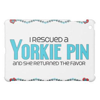 I Rescued a Yorkie Pin (Female) Dog Adoption iPad Mini Cover