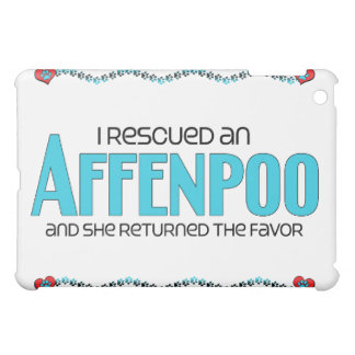 I Rescued an Affenpoo (Female) Dog Adoption Design iPad Mini Cover