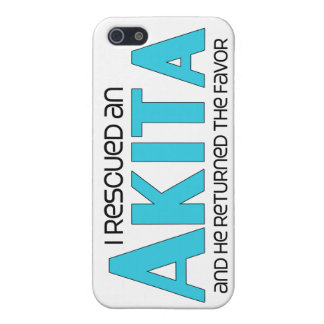 I Rescued an Akita (Male Dog) iPhone 5 Cover