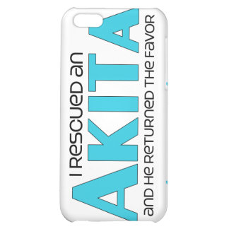 I Rescued an Akita (Male Dog) iPhone 5C Covers