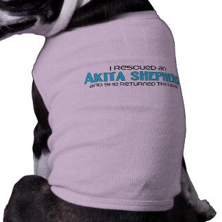 I Rescued an Akita Shepherd (Female) Dog Adoption Shirt