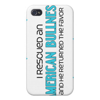 I Rescued an American Bullnese (Male) Dog Adoption Cases For iPhone 4