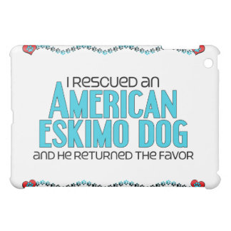 I Rescued an American Eskimo Dog (Male Dog) iPad Mini Cases
