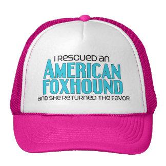I Rescued an American Foxhound (Female Dog) Trucker Hat