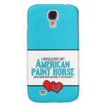 I Rescued an American Paint Horse (Female Horse) Samsung Galaxy S4 Covers